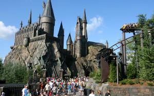 В японском парке — новый аттракцион для поклонников Гарри Поттера