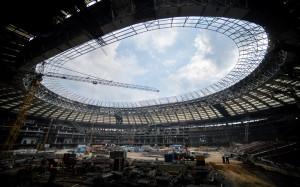 Как выглядят стадионы ЧМ-2018 прямо сейчас