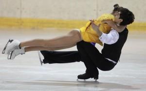 Харьковские фигуристы взяли золото на чемпионате Украины