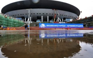 Стадион «Зенит-Арена» готов на 95%