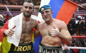 Чемпион мира Денис Лебедев пропустил мощный удар и проиграл титул по версии IBF молодому претенденту Мурату Гассиеву