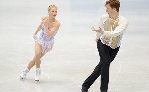 Пара Тарасова и Морозов лидирует после короткой программы на ЧЕ по фигурному катанию