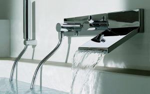 Разнообразные смесители для ванной