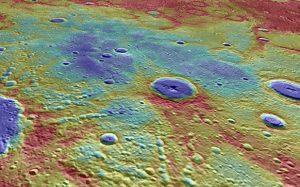 Астрономы нашли огромные залежи льда на Меркурии