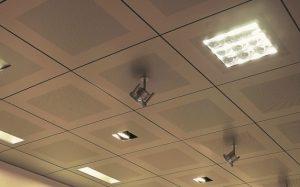 Этапы установки металлического подвесного потолка