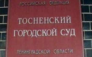 История и особенности работы Тосненского городского суда