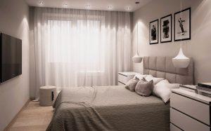 Дизайн маленькой спальни на заказ