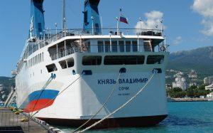 В Крыму назвали дату возобновления круизов на «Князе Владимире»