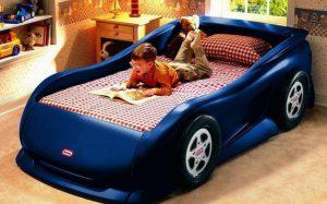 Кровати в виде машинок для детей