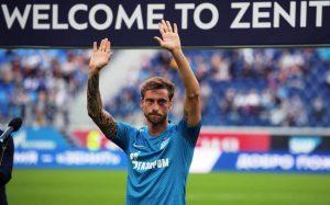 Маркизио дебютировал за «Зенит» в матче с «Кайратом»