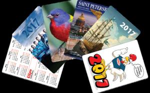 Карманные календарики – реклама в миниатюре