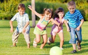 Весёлые игры для детей на улице