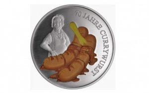 Германия выпустила монету в честь карривурста