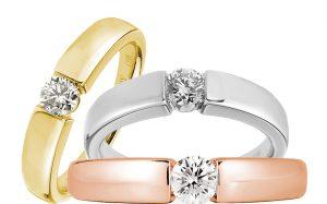 Золотое кольцо. Кольца из желтого золота