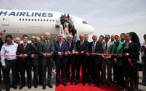 Turkish Airlines продолжает расширять маршрутную сеть