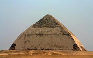 Описание пирамиды Снофру