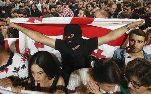 Матвиенко обвинила США в причастности к антироссийским выступлениям в Грузии