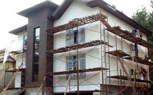 Виды фасадных работ