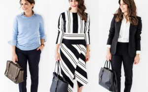 Модная женская одежда для собеседования