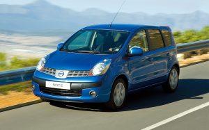 Nissan Note: практичность и функциональность