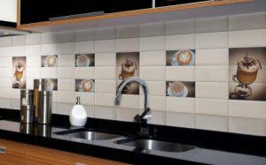 Почему стеклянный фартук для кухни лучше керамического?