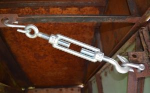 Использование талреп крюк-кольца