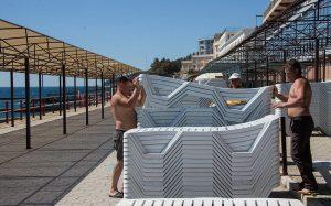 600 крымских санаториев и отелей возобновили свою работу