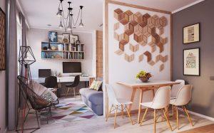 Особенности интерьера в маленькой квартире