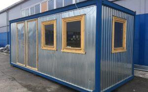 Производство и реализация строительных бытовок