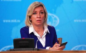 Захарова прокомментировала антироссийские заявления в Facebook и Twitter