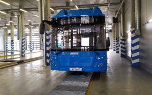 В российских городах появились «умные» автобусы