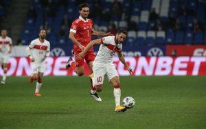 Российские футболисты не удержали победу в матче Лиги наций с турками