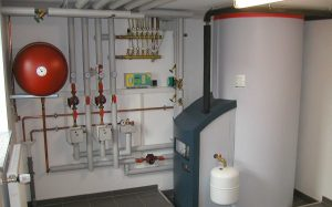 Котлы со встроенным водонагревателем — горячая вода по запросу