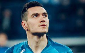 «Зенит» поздравил Караваева с юбилейным матчем за клуб