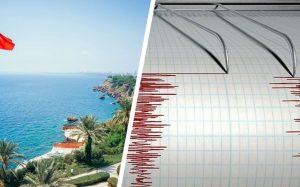 В Анталии и Мармарисе землетрясение: паника началась ночью