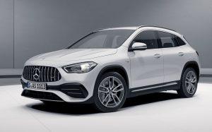 Характеристики автомобиля Mercedes-AMG GLA