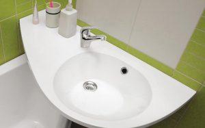 Какая раковина подойдет для маленькой ванной комнаты?
