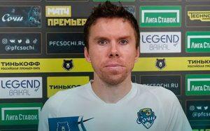 Терехов объяснил, почему хотел уйти из «Оренбурга» в перерыве первого матча