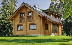 Дом из бруса 200х200: выбор материала и технология строительства