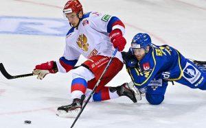 Сборная России победила команду Швеции на Чешских хоккейных играх
