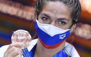 Юлия Ефимова рада, что ей удается набирать форму к Олимпийским играм