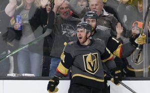 Хет-трик Маршессо помог «Вегасу» обыграть «Колорадо» и сравнять счет в серии плей-офф НХЛ