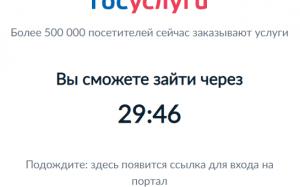 Россиянам назвали причину временной недоступности портала госуслуг