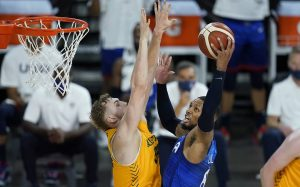 Сборная США по баскетболу проиграла второй матч подряд в рамках подготовки к Олимпиаде