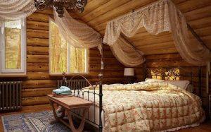 Как сделать спальню в стиле викторианского кантри?