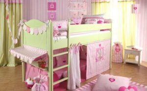 Детская кровать. Выбор кровати для ребенка от 4-5 лет