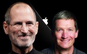 Apple Джобса против Apple Кука