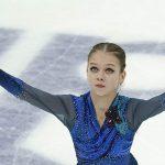 Трусова снялась с произвольной программы на этапеКу Кубка России в Сызрани
