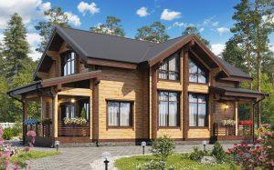Строительство дома из клееного бруса для комфортного проживания